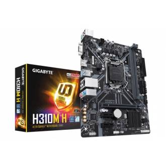 PLACA BASE GIGABYTE H310M H 2.0 1151 MATX 2*DDR4 VGA HDMI