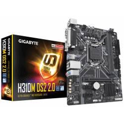 PLACA BASE GIGABYTE H310M DS2 1151 MATX 2*DDR4 SERIE LPT VGA