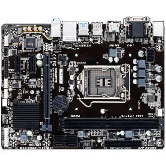 PLACA BASE GIGABYTE 1151 GA-H110M-S2H 2xDDR4 VGA/HDMI/DVI