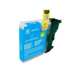COMPATIBLE CON BROTHER DCP145 - 165C CYAN - (LC1100CCOMP)