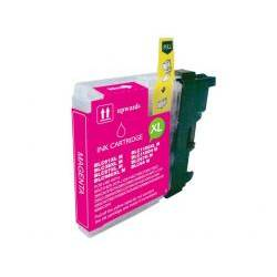 COMPATIBLE CON BROTHER DCP145 - 165C MAGENTA 10.6 ml . (LC1100M-LC985COMP)