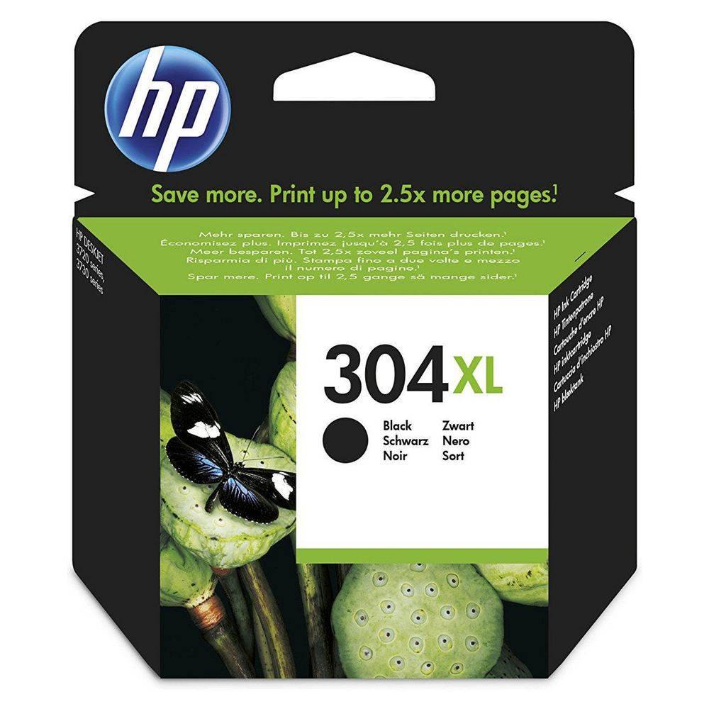 HP Nº 304XL DeskJet 3720/3730/3732 CABEZAL NEGRO - 300 PAG